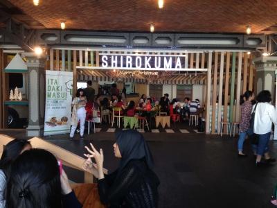 ジャカルタのシロクマカフェ