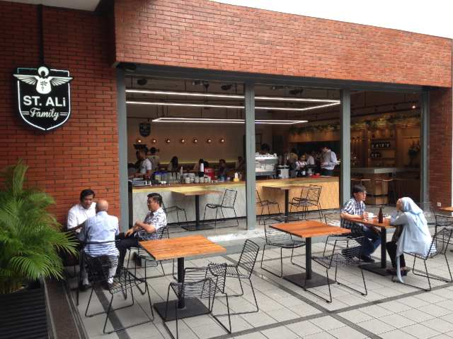 メルボルンからジャカルタに来たカフェ、St. ALi その1