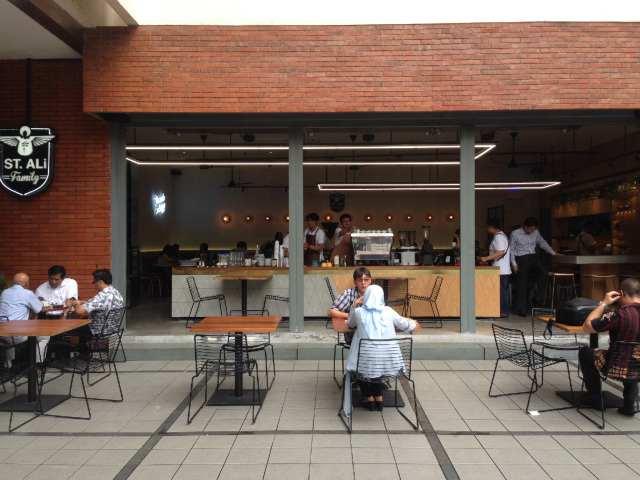 メルボルンからジャカルタに来たカフェ、St. ALi その2