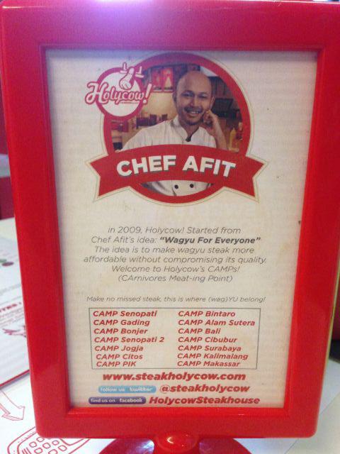 Chef Afit