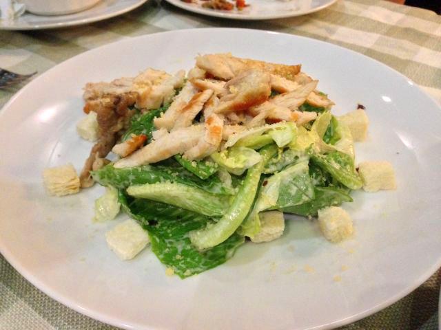 Ceasar Salad Half