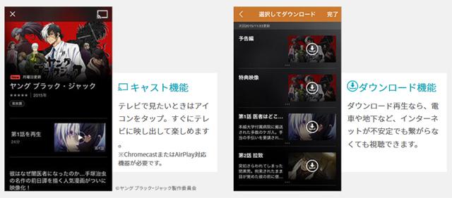 動画用アプリ