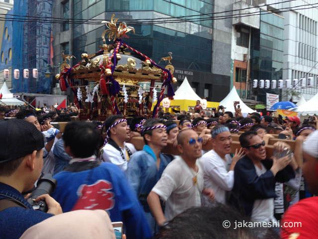 ジャカルタ最大級の日本イベント、縁日祭|ジャカルタ飯