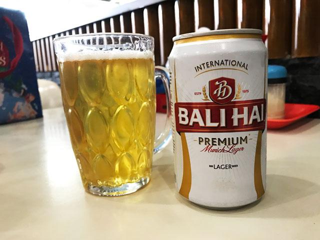 ビールも完備