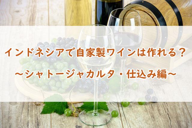 自家製ワインの作り方!シャトージャカルタ【仕込み編】