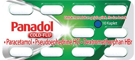 Panadol cold&Flu(緑)