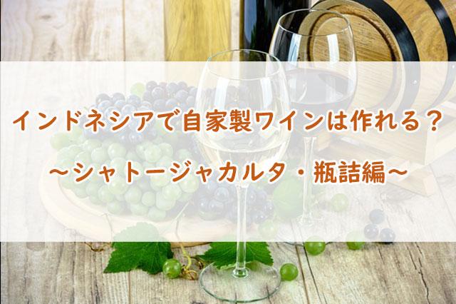 自家製ワインの作り方!シャトージャカルタ最終章【瓶詰編】